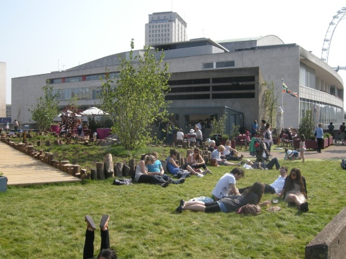 Roof Garden Created for Southbank Centre, London
