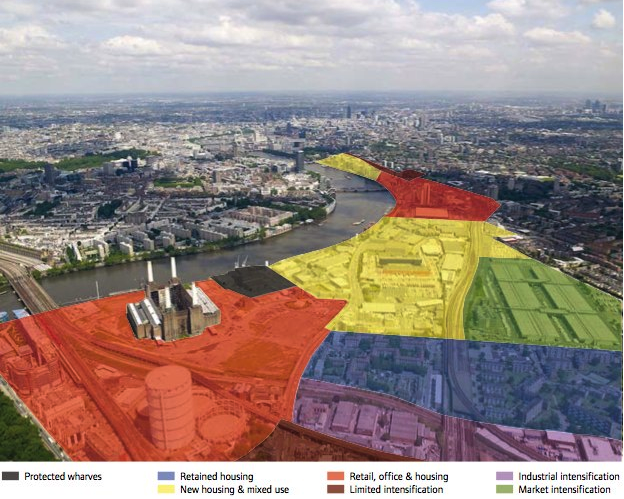Vauxhall Nine Elms And Battersea Opportunity Area