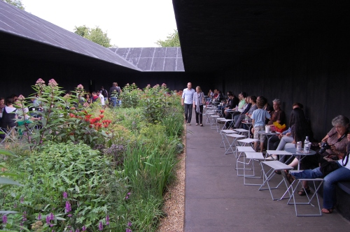 Peter Zumthor's Serpentine Pavilion Garden, 2011, London