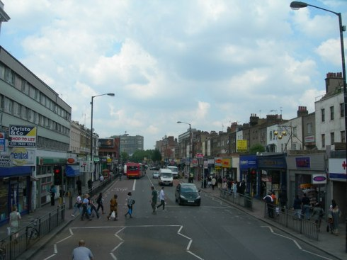 Old Walworth Road - Wide Carriageway with Bus Lane