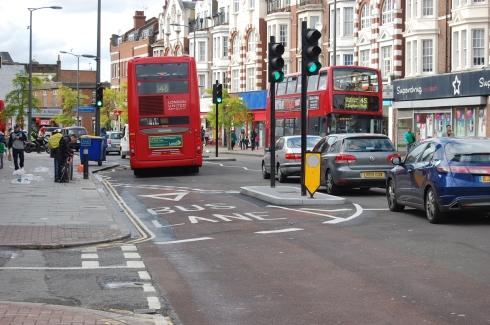 Walworth Road - 'Bus Gate'