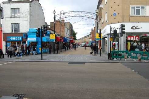 Walworth Road - East Street Market Crossing and Entrance