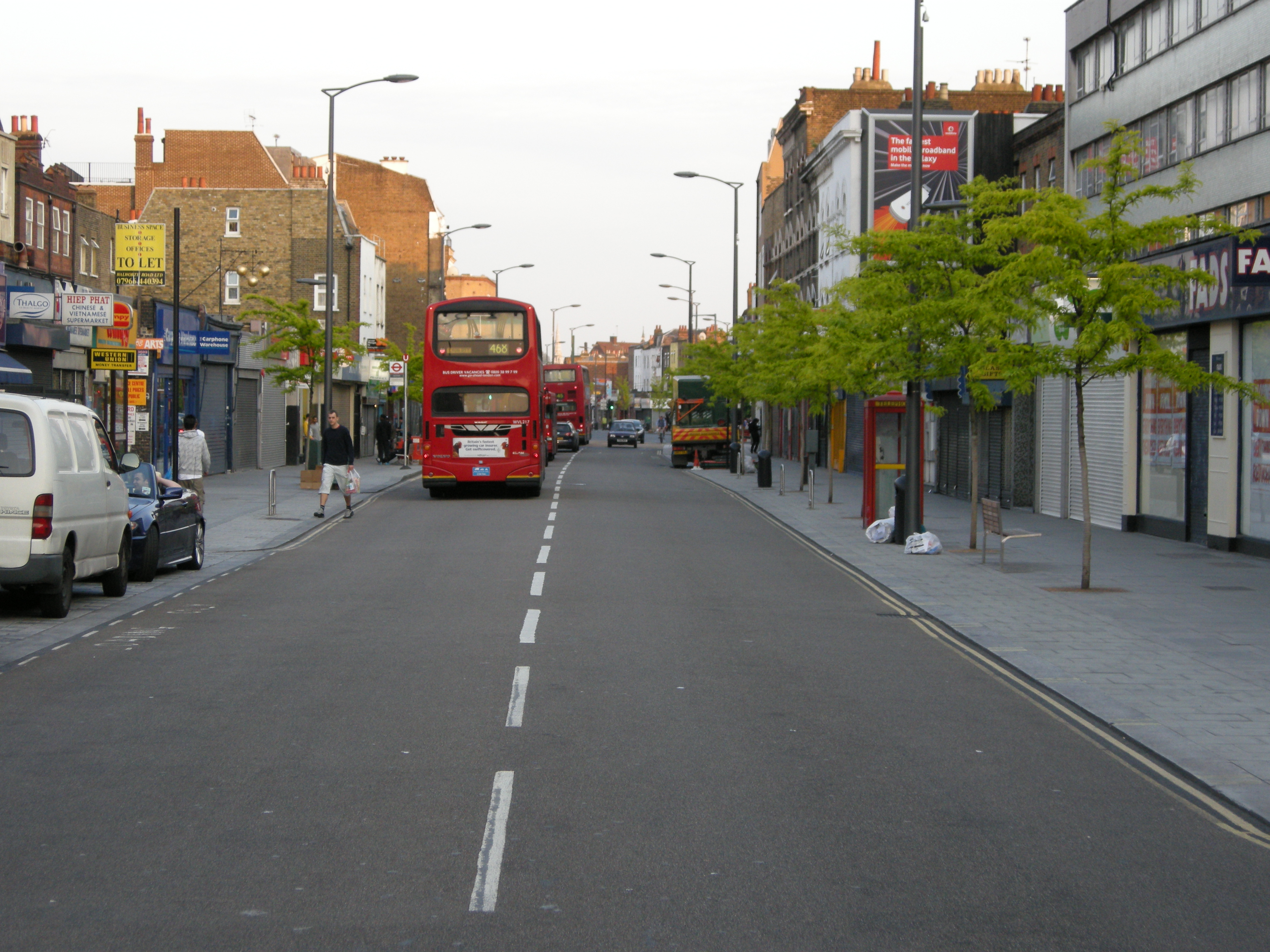 Walworth Road – High Street Improvements | landscape ...