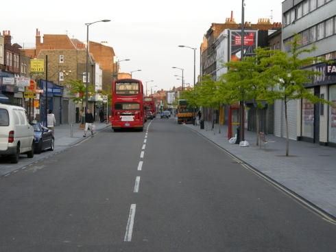 Walworth Road - High Street with Loading Bays