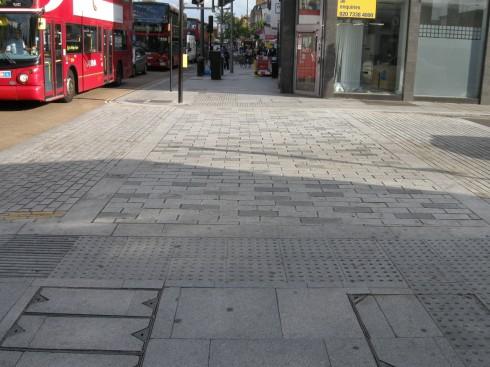 Walworth Road - Raised Side Street Crossing