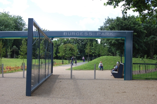 Burgess Park Old Kent Road Entrance