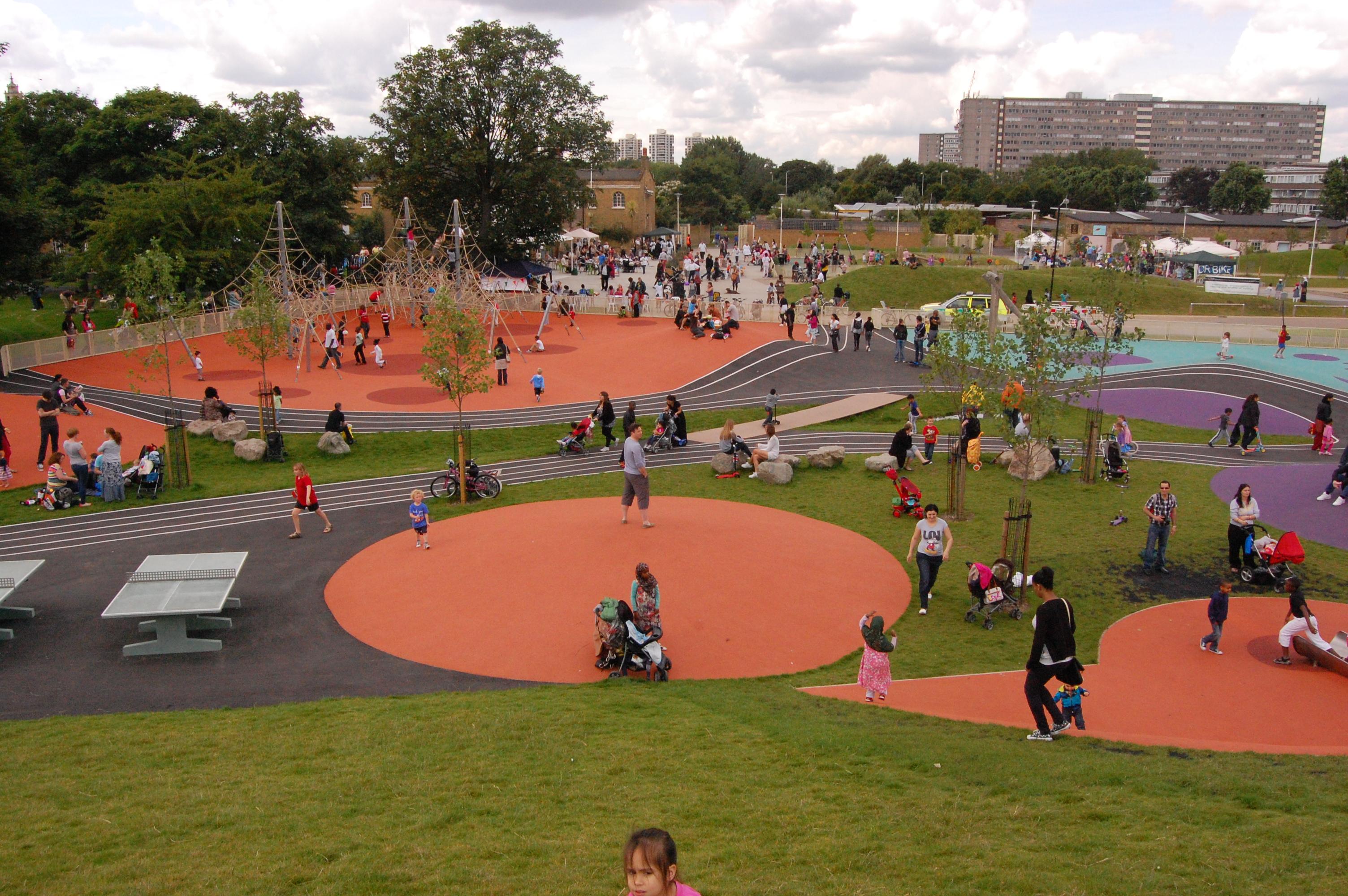 Burgess Park Landscape Architect S Pages