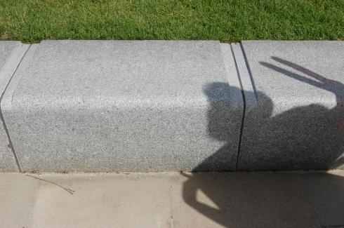 Jubilee Gardens, London - Anti Skateboard Detail