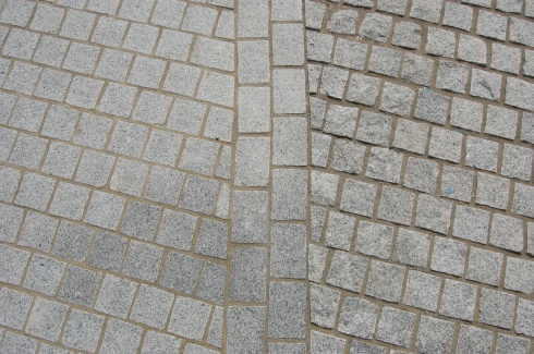 Jubilee Gardens, London - Paving Detail