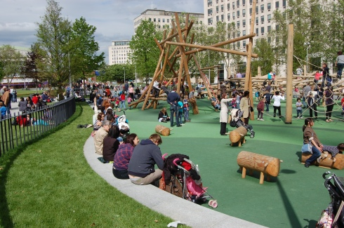 Jubilee Gardens, London - Playground