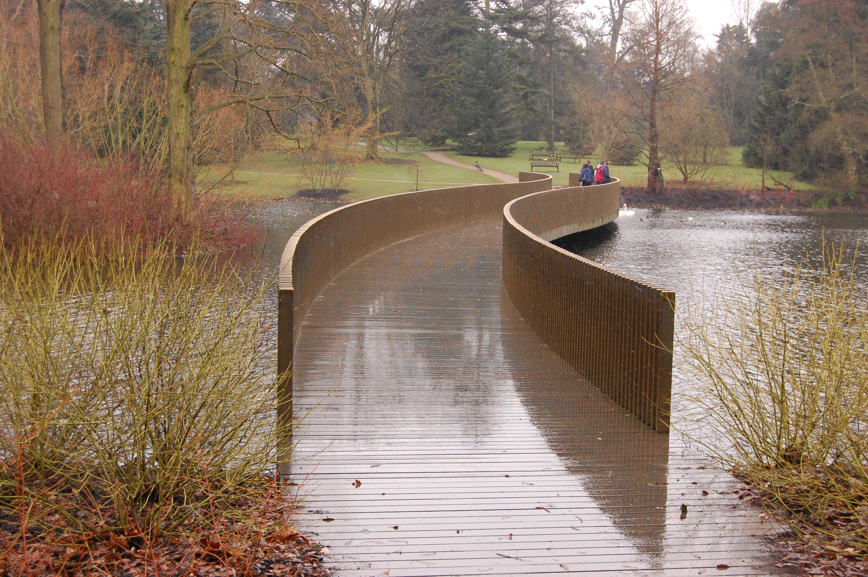 Kew Gardens Lake Bridge – Sackler Crossing | landscape architect\'s pages