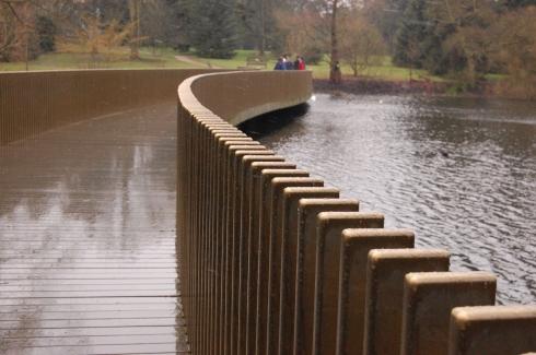 Kew Gardens Lake Bridge - Sackler Crossing - Posts