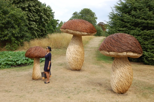 Tom Hare Willow Mushrooms at Kew Gardens