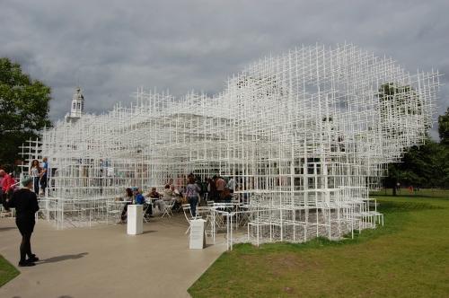 Serpentine Gallery Pavilion 2013 by Sou Fujimoto, London