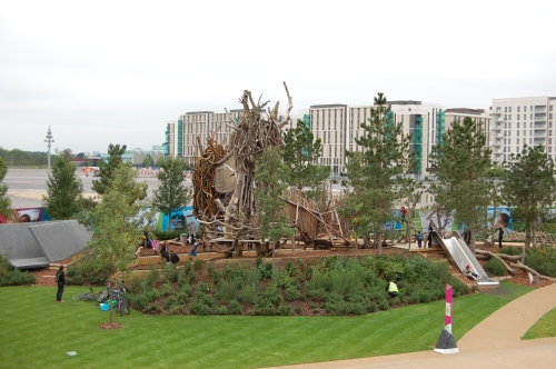 Tumbling Bay Playground, Queen Elizabeth Olympic Park, London
