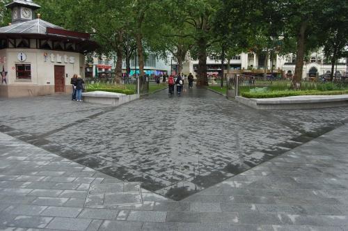 Leicester Square Landscape, London