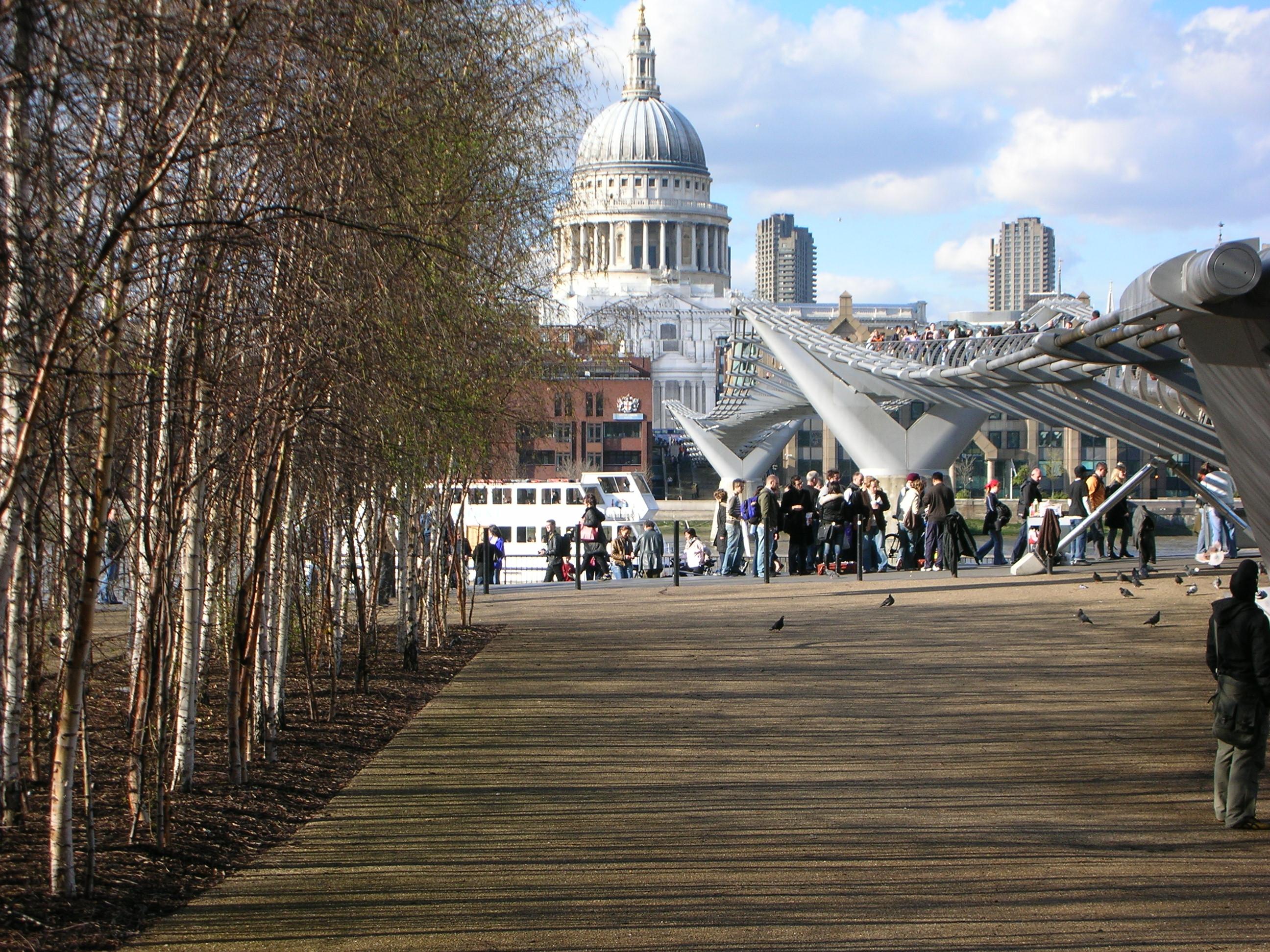 Tate Modern Riverside Public Realm Landscape Landscape