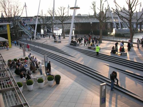 Southbank, Royal Festival Hall Landscape, London