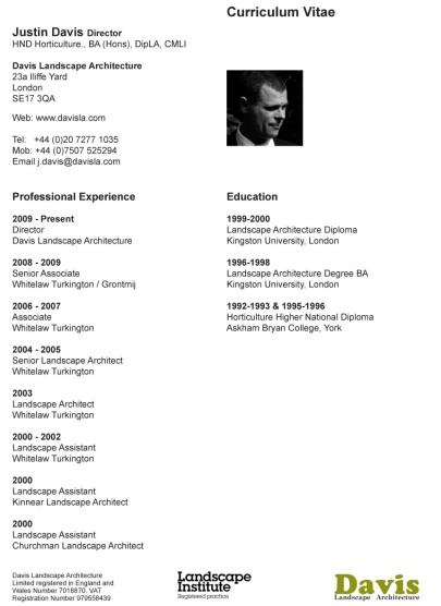 cv architect