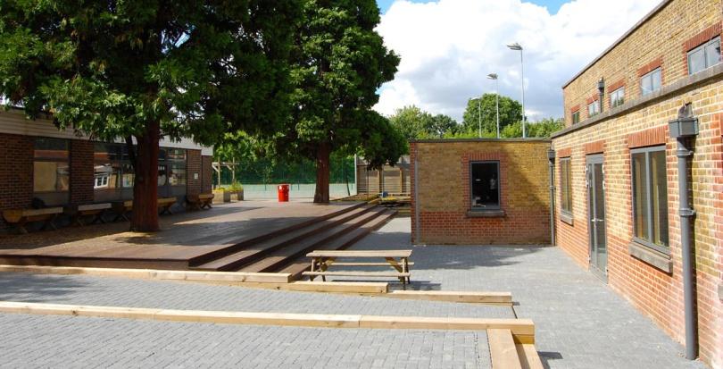 0211 Davis Landscape Architecture Stanley Primary School London Landscape Complete Court Yard