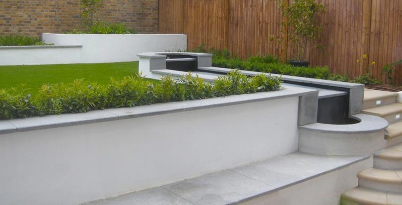 0228 Davis Landscape Architecture Belsize Park London Residential Landscape Architect Seat Water Feature