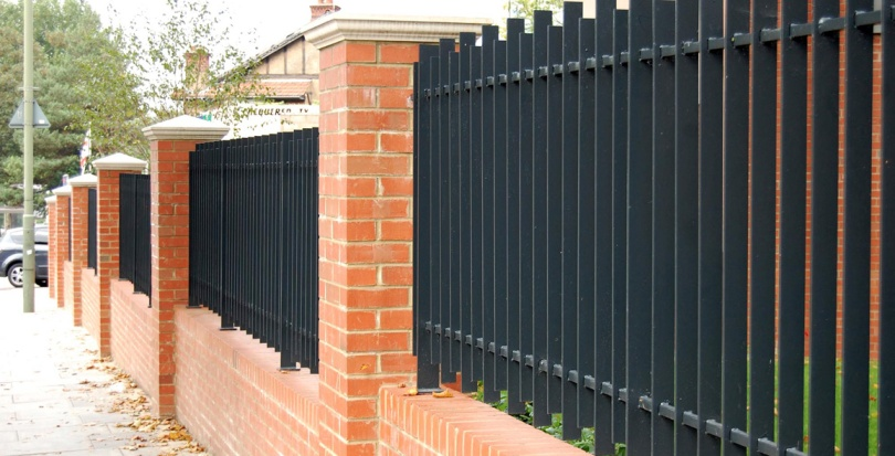 0240 Davis Landscape Architecture High Road London Residential Landscape Complete Boundary Wall