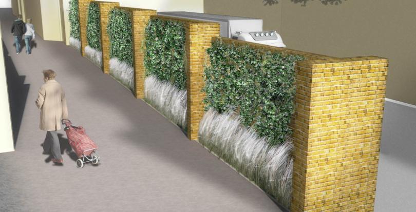 0263 Davis Landscape Architecture Chequers Court Huntingdon Public Realm Landscape Architect Visualisation Planning