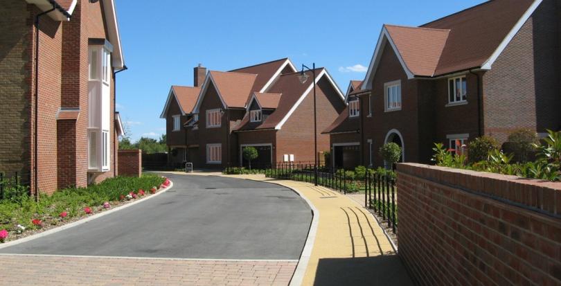 0377 Davis Landscape Architecture Pieris Place Bulphan Essex Complete Spine Road Residential Landscape Architect Design Green Belt