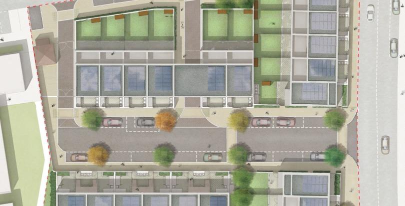 Davis Landscape Architecture Kingsbridge Barking London Render Plan Residential Landscape Architect Design Blog Image